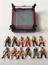 WWF MICRO AGGRESSION LOT Loose Used WWE Wrestling Figures Ring CM Punk Cena HBK