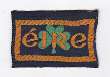 SCOUT ASSOCIATION OF IRELAND - IRISH SAI SCOUT EIRE NATIONAL EMBLEM PATCH  SCARE