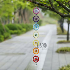 Chakra Dreamcatcher Suncatcher Handmade Pendant Window Decor Healing Gift