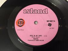 "TRAFFIC-STEVE WINWOOD:""Hole In My Shoe/Smiling Phases"": Island 1967 U.K. 45 :VG+"
