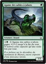 MTG Magic HOU - (x4) Frilled Sandwalla/Agame des sables à jabots, French/VF