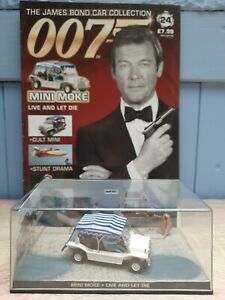 James Bond Car Collection 1:43, Mini Moke, Live and let die