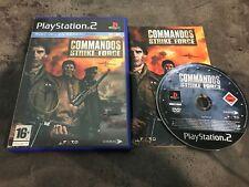 PS2 : commandos strike force