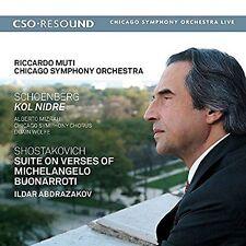Schoenberg Kol Nidre - Shostakovich Suite on Verses of Michelangelo Buonarroti