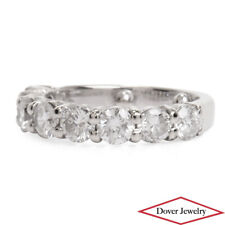 Estate 1.80ct Natural Diamond 14K Gold Elegant Band Ring NR