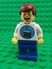 *NEW* Lego Birthday Boy Figure Huge Smile Cake Topper Minifig Fig x 1