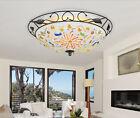 Modern Simplicity 3 Lights Diameter 37CM Height 13CM Glass Bedroom Ceiling Light