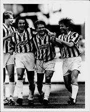 1995 DESCHAMPS SOUSA foto originale Serie A Juventus-Parma 4-0 23° scudetto