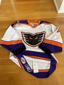 Authentic Philadelphia Phantoms 46 Reebok Jersey AHL Rare NHL Ice Hockey White
