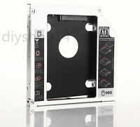 New 2nd HDD SSD Hard Drive Caddy Adapter Bay For Sony Vaio VGN-FW520F vpc-f13e1r