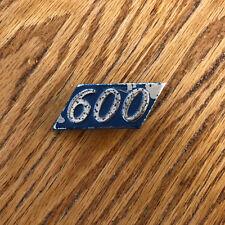 Honda 600 motorcycle emblem