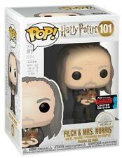 Harry Potter - FLICH & Mrs. NORRIS - NYCC 2019 - Funko POP! Vinyl - New
