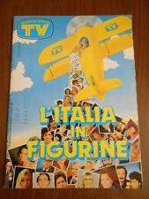album figurine-ITALIA IN FIGURINE-SORRISI E CANZONI TV- con 174 figurine