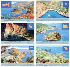 Chromo Liebig Sang. 1799 ITA Le belle isole italiane ANNO 1964