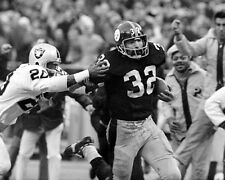 1972 Pittsburgh Steelers FRANCO HARRIS Glossy 11x14 Photo Immaculate Reception!