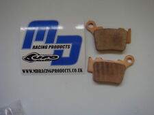 NEW MD MOTOCROSS REAR BRAKE PADS SUZUKI RM 125 89-95