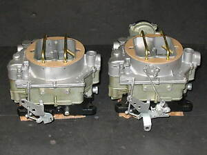 1957-1961 Dual Quad Carter WCFB Clone Carburetors Corvette Chevy 283 270HP