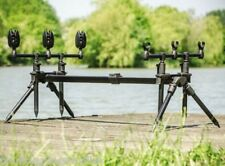 New  Leeda  Goal Post Rod Pod Plus Carry Case for carp / pike rods