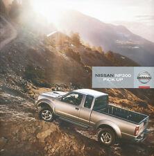 Nissan NP300 Pick Up Prospekt 2008 4/08 brochure prospectus Autoprospekt Katalog