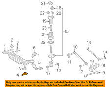 TOYOTA OEM Rear Suspension-Susp Crossmember Stopper Right 5220306010
