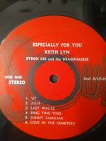 Keith Lyn With Byron Lee And The Dragonaires ‎– Especially For You Vinyl LP