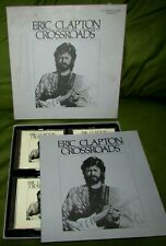 ERIC CLAPTON Crossroads ORIG POLYDOR 1988 4 x CD BOX SET with Booklet +Insert