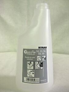 Ecolab Oasis Pro Premium 52 53 56 58 59 Bottle 650ml Flasche 12 Stück NEU