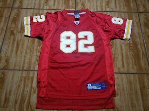 Reebok Dwayne Bowe Kansas City Chiefs Football Jersey Youth Medium Red Boys