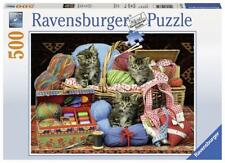 Ravensburger 14785 High Quality Knitters Delight 500 Piece Jigsaw Puzzle - Multi