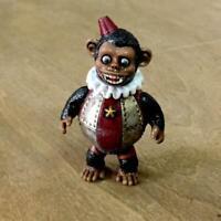 "Medicom VAG Series 11 Kikkake Toy Iron Monkey Sofubi Black 3"""