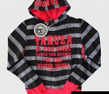 Yakuza Ink Hoodie Kapuzenpullover YH1100 Pullover schwarz grau rot Gr. XL