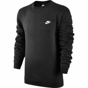 "NIKE New Crew Neck Fleece Sweatshirt Jumper - ""Size Large"" - Australian Stock!"