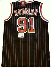 Dennis Rodman Signed Adidas Authentic Chicago Bulls Signed 1995-'96 Jersey -...
