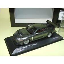 JAGUAR XKR GT3 2008 Gris Metallic MINICHAMPS 1:43