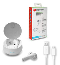 Motorola Verve Buds 500 true Wiriless in-ear headphones White w/ Amazon Alexa