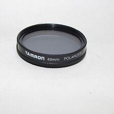 Genuine Tamron Polarizer 49 mm Lens Filter Made in Japan S311916