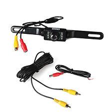License Plate Night Vision Rear View Back Up Reverse Camera CMOS 7 LED Camera
