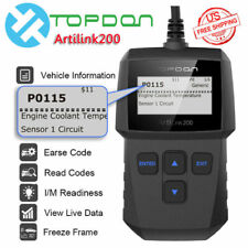 OBD2 CAN EOBD Automotive Car Code Reader Diagnostic Scanner Emission Test Tool