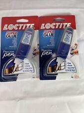 2 Pack Loctite Precision Pen Gel All Purpose Super Glue 14 Oz