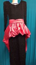 Full Length Polyester Long Sleeve Petite Dresses for Women