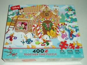 Disney's Mickey Mouse Gingerbread House Together Time Jigsaw Puzzle  NIB