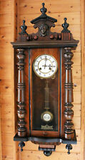 JUNGHANS WALL CLOCK VIENNA LADY ON TOP 1880