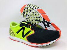 New Balance Men's Hanzo V1 Running Shoe, Lime/Black, 8 D(M) US