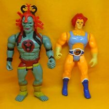 Vintage 1985 80 S LJN Toys Thundercats Lion-O liono & Mumm-Ra Action Figures Lot