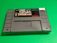 🔥💯WORKING SUPER NINTENDO SNES GAME  The Jetsons Invasion of The Planet Pirates