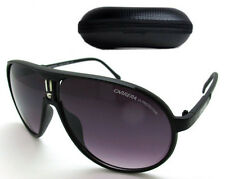 New Fashion Men & Women's Retro Sunglasses Unisex Carrera Glasses Matte Black