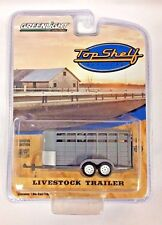 GREENLIGHT TOP SHELF REPLICAS GREY LIVESTOCK Farm TRAILER HITCH & TOW 1:64