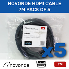 Novonde 7m HDMI cable - 5pack