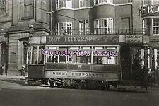 a0700 - Derby Tram to Osmaston Road Car Depot - photograph