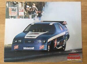 NHRA 80's Schlitz Raymond Beadle Blue Max Funny Car Drag Racing Track Handout